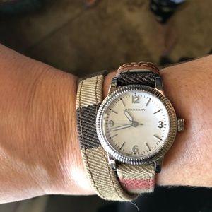 Burberry wrap watch